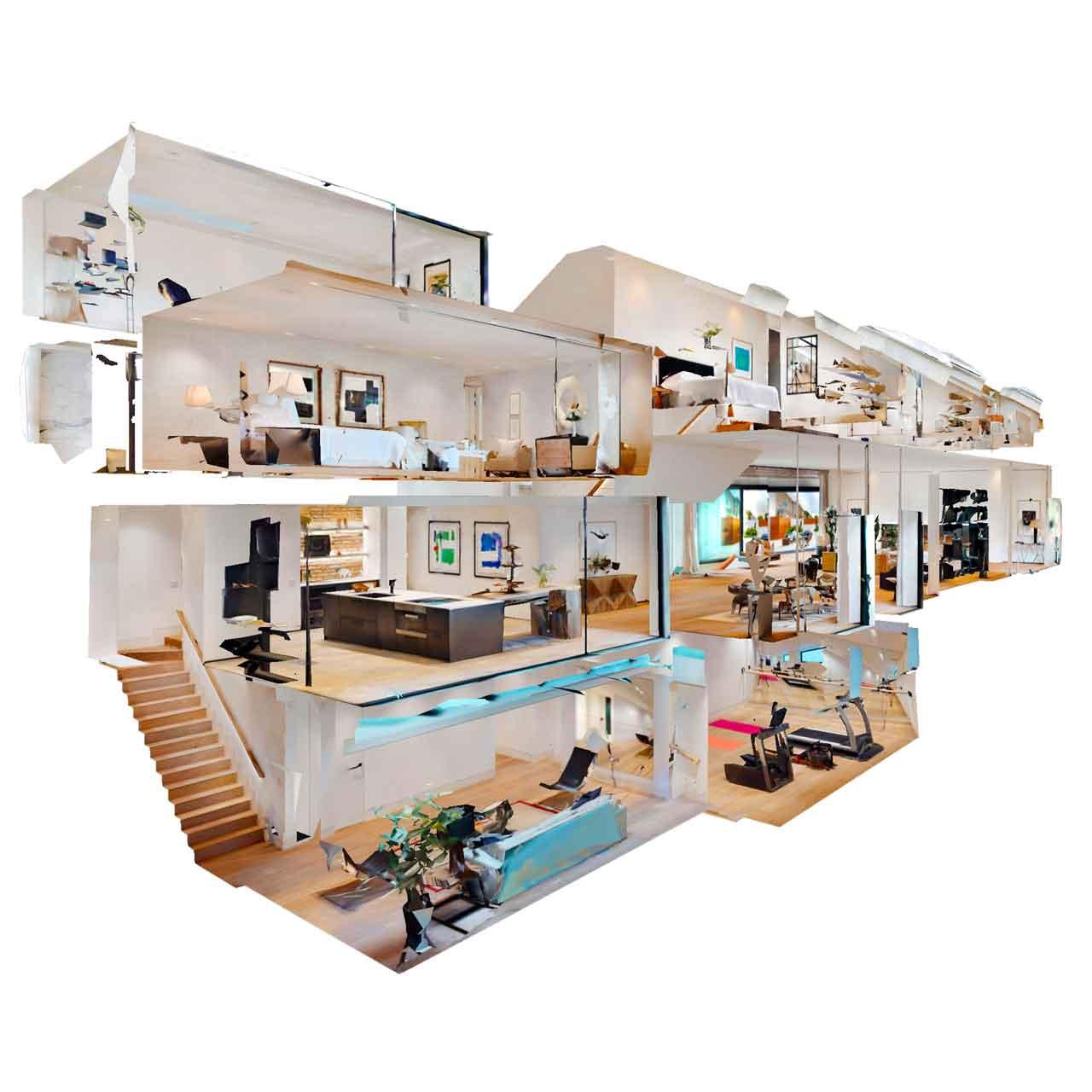 scan 3D maison